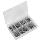 200pc IMPERIAL CLEVIS PINS